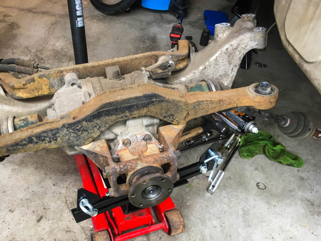 AYC Rear Differential Evo 6 GSR with Rust